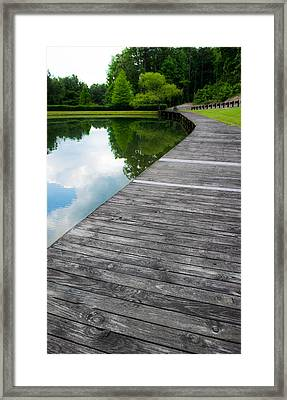 Boardwalk Framed Print by Shelby  Young