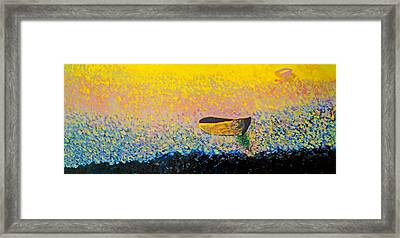 Boat Framed Print by Andrew Petras