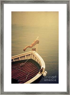 Boat Framed Print by Jelena Jovanovic