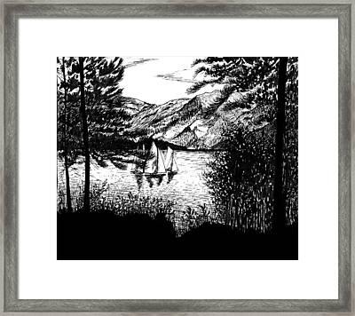 Boats Framed Print by Carl Genovese