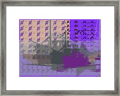 Boats Infinite Framed Print by Keshava Shukla