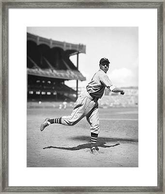 Bob Feller Follow Through Framed Print by Retro Images Archive