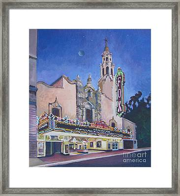 Bob Hope Theatre Framed Print by Vanessa Hadady BFA MA