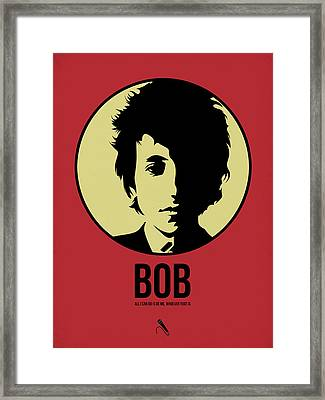 Bob Poster 1 Framed Print by Naxart Studio