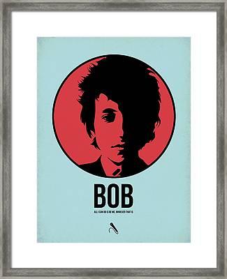 Bob Poster 2 Framed Print by Naxart Studio