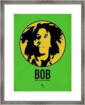 Bob Poster 3 Framed Print by Naxart Studio