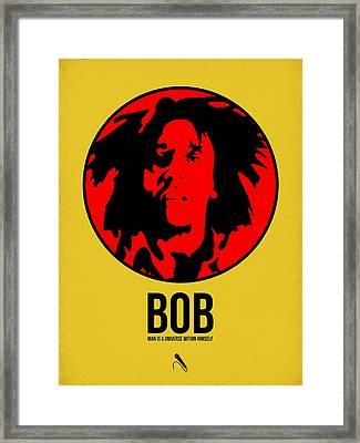Bob Poster 4 Framed Print by Naxart Studio