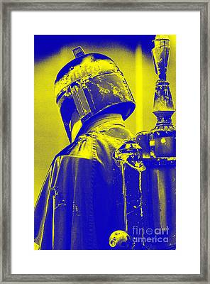 Boba Fett Costume 1 Framed Print by Micah May