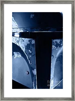 Boba Fett Helmet 104 Framed Print by Micah May