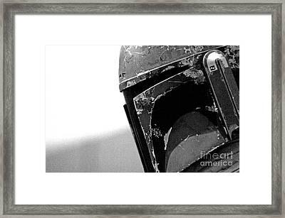 Boba Fett Helmet 27 Framed Print by Micah May