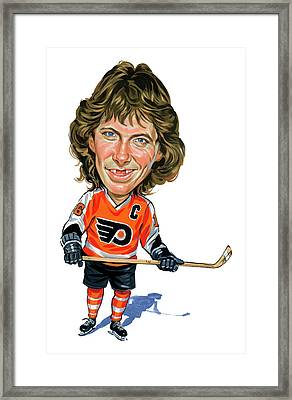 Bobby Clarke Framed Print by Art