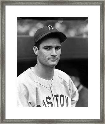 Bobby Doerr Looking Into Camera Framed Print by Retro Images Archive