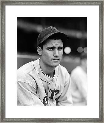 Bobby Doerr Looking Into Distance Framed Print by Retro Images Archive