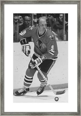 Bobby Hull Poster Framed Print by Gianfranco Weiss