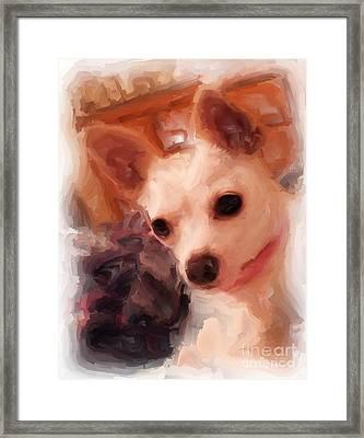 Bobby Mcgee 2 Framed Print by Ruby Cross