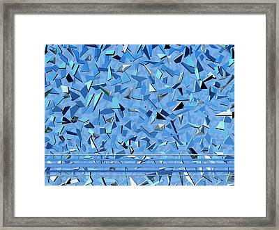 Bobby Sings The Blues Framed Print by Wendy J St Christopher