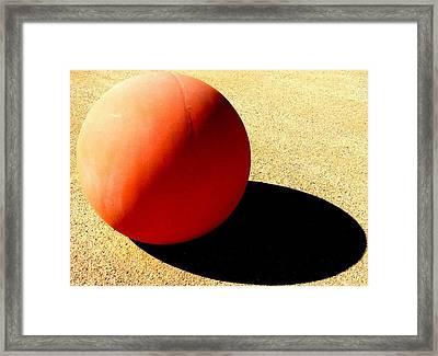 Bocci Ball 4 Framed Print by Ron Kandt