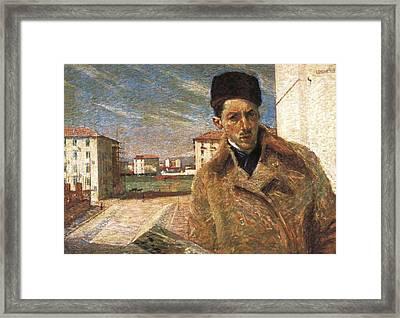 Boccioni, Umberto 1882-1916 Framed Print by Everett