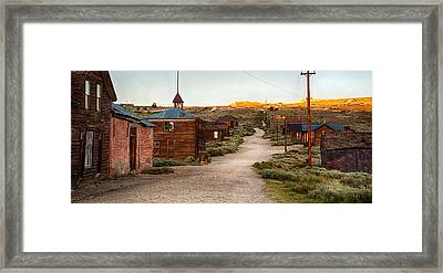 Bodie California Framed Print by Cat Connor