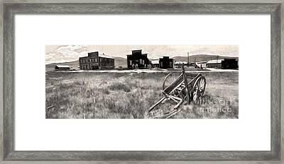 Bodie Ghost Town - 03 Framed Print by Gregory Dyer