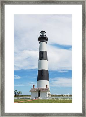 Bodie Island Lighthouse - Outer Banks Framed Print by Kay Pickens