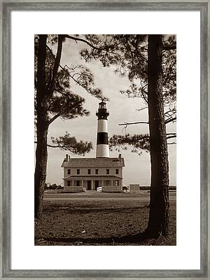 Bodie Island Lighthouse Framed Print by Skip Willits