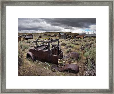 Bodie Framed Print by Leland D Howard