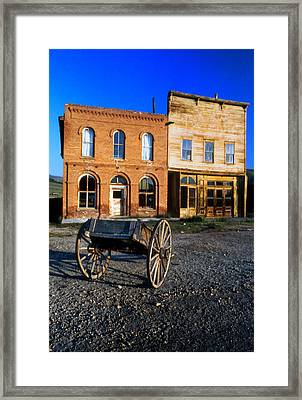 Bodie Storefront Framed Print by Joe Darin