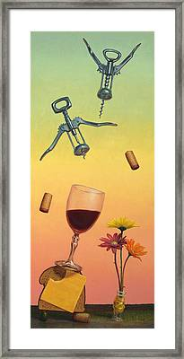 Body And Soul Framed Print by James W Johnson