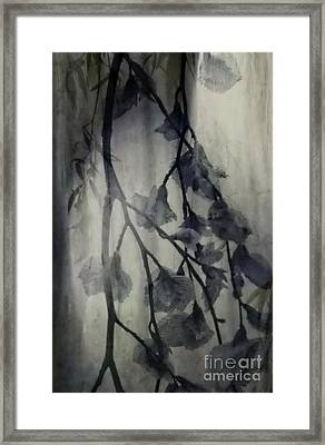 Body Art Greeting Card Framed Print by Annie Lemay