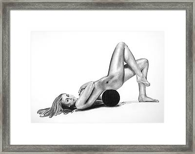 Body By Taurasi Framed Print by Devin Millington