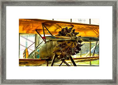 Boeing 100p Fighter Framed Print by David Patterson