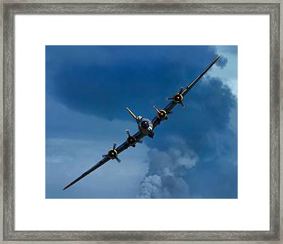 Boeing B-17 Flying Fortress Framed Print by Adam Romanowicz