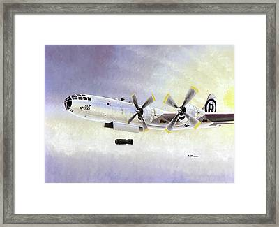Boeing B-29 'enola Gay' Framed Print by Us Air Force