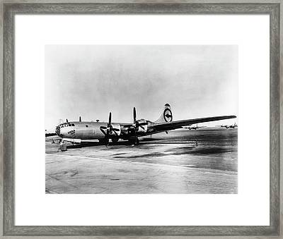 Boeing B-29 'enola Gay' Framed Print by Us Department Of Energy