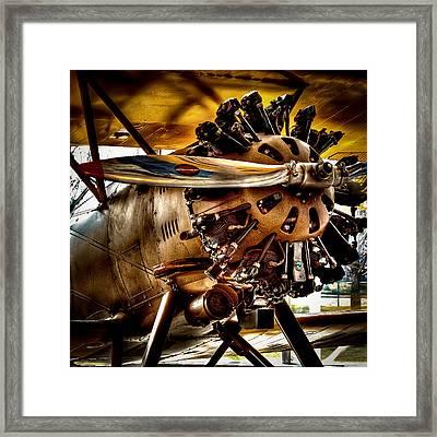 Boeing Model 100 Framed Print by David Patterson