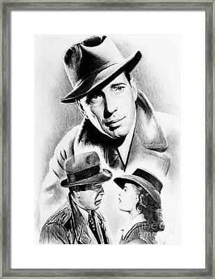 Bogart Framed Print by Andrew Read
