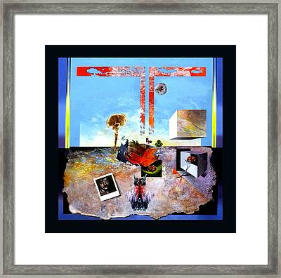 Bogomil Objects Framed Print by Otto Rapp