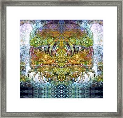 Bogomil Variation 11 Framed Print by Otto Rapp