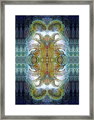 Bogomil Variation 14 - Otto Rapp And Michael Wolik Framed Print by Otto Rapp