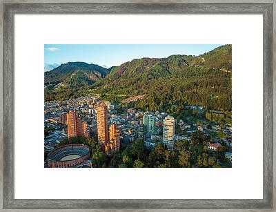 Bogota Colombia Framed Print by Jess Kraft