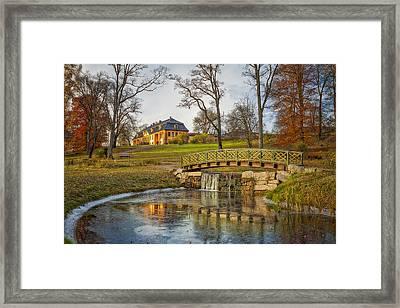 Bogstad Manor Framed Print by Erik Brede