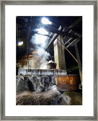 Boiling Point Framed Print by Eric Sloan