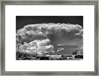 Boiling Sky Framed Print by Trever Miller