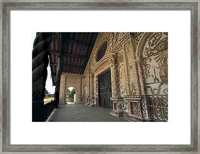 Bolivia. Santa Cruz. San Jos� De Framed Print by Everett