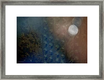 Bolts On The Trident Framed Print by Rob Hans