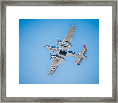 Bombs Away Framed Print by Jeff Donald