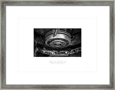 Bombshell Betty Straight - Metal And Speed Framed Print by Holly Martin