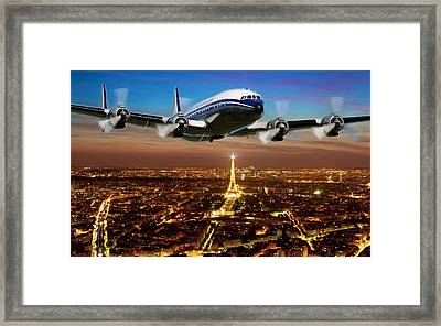 Bon Voyage Framed Print by Peter Chilelli