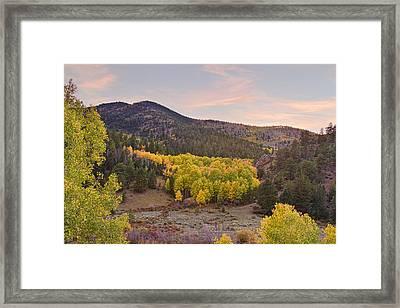 Bonanza Autumn View Framed Print by James BO  Insogna